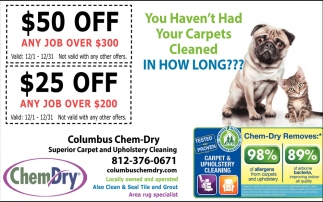 You Haven't Had Your Carpets Cleaned In How Long??