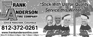 Stick With Us For Quality Service This Winter