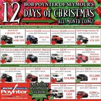12 Bob Poynter Of Seymour's Days Of Christmas
