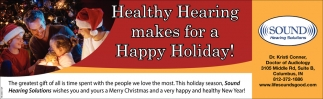 Healthy Hearing Makes For A Happy Holiday!