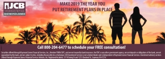 Make 2019 The Year You Put Retirement Plans In Place