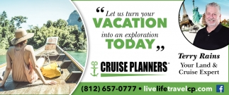 Let Us Turn Your Vacation Into An Exploration Today