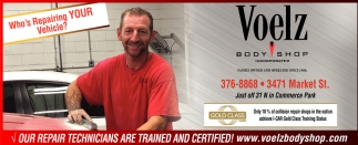 Our Repair Technicians Are Trained And Certified!
