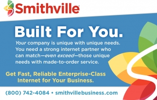 Smithville. Built For You.