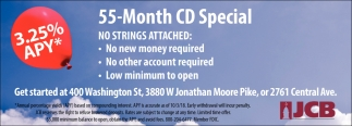 55-Month CD Special