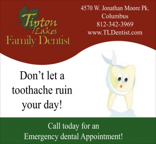 Don't Let A Toothache Ruin Your Day!