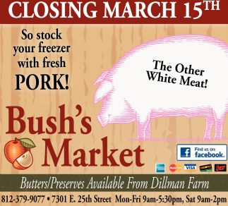 Closing March 15th