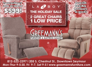 The Holiday Sale   Greemann s Furniture And Mattress Gallery. Holiday Sale   Greemann s Furniture And Mattress Gallery