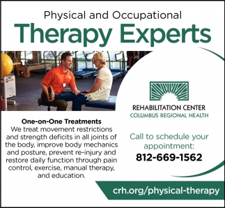 Physical And Occupational Therapy Experts, Columbus Regional