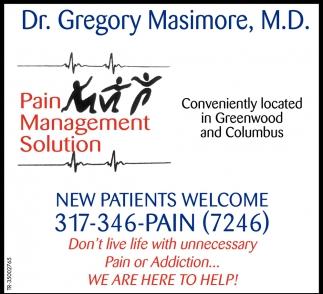Pain Management Solution