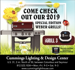 Come Check Out Our 2019 Special Edition Weber Grills!