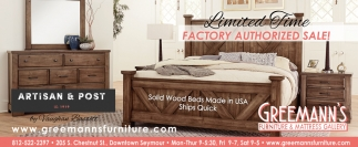 Limited Time Factory Authorized Sale!