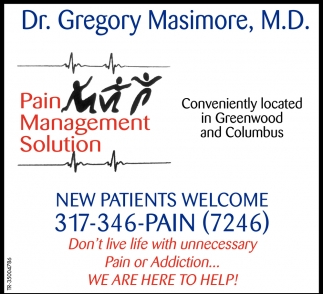 Pain Management Solution