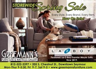 Storewide Spring Sale