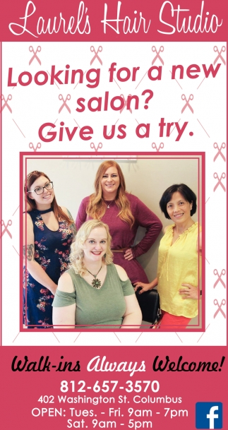 Looking For A New Salon?