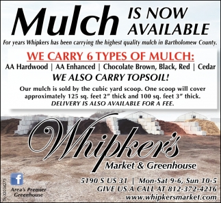 Mulch Is Now Available