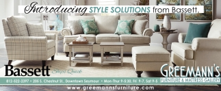 Introducing Style Solutions From Bassett.