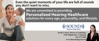 Personalized Hearing Healthcare