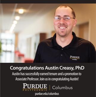 Congratulations Austin Creasy, PhD