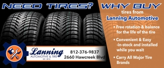 Need Tires?