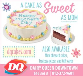 A Cake As Sweet As Mom