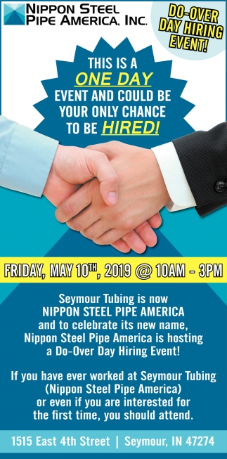 Do-Over Day Hiring Event!