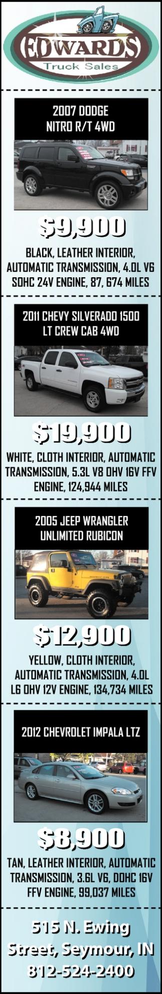 2007 Dodge Nitro R/T 4WD