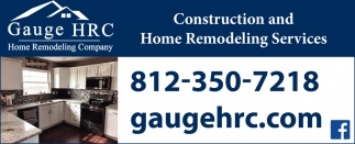 Construction And Home Remodeling Services