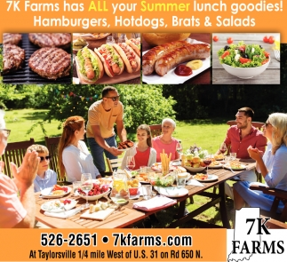 7k Farms Has All Your Summer Lunch Goodies!