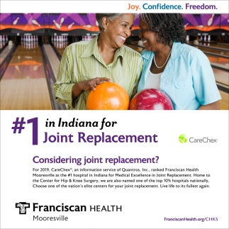 Considering Joint Replacement?