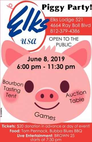 Piggy Party!