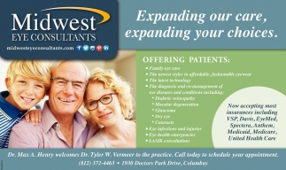 Expanding Our Care, Expanding Your Choices.