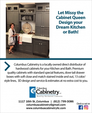 Let Missy The Cabinet Queen Design Your Dream Kitchen Or Bath