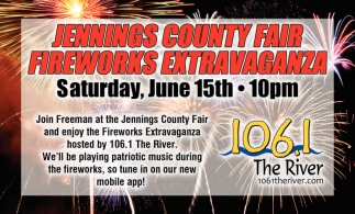 Jennings County Fair Fireworks Extravaganza
