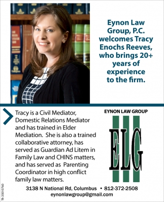 Welcomes Tracy Enochs Reeves