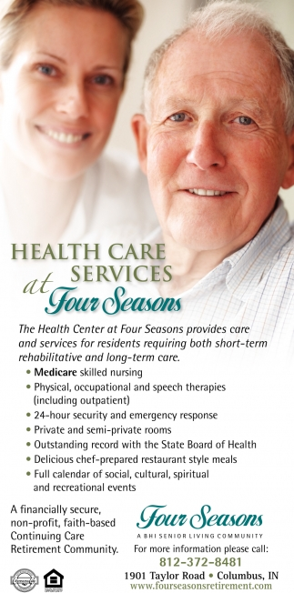 Health Care Services At Four Seasons
