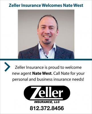 Zeller Insurance Welcomes Nate West