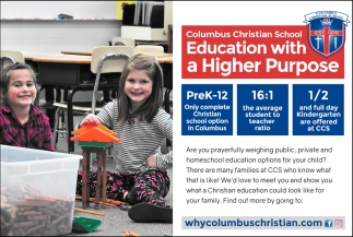 Education With A Higher Purpose