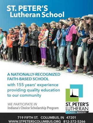 A Nationally-Recognized Faith-Based School