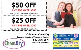 $50 Off Any Job Over $300