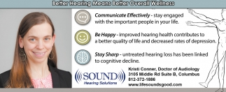 Better Hearing Means Better Overall Wellness