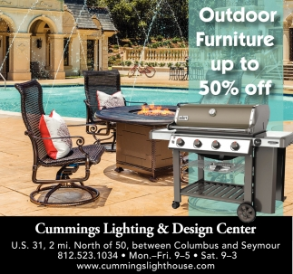 Outdoor Furniture Up To 50% Off