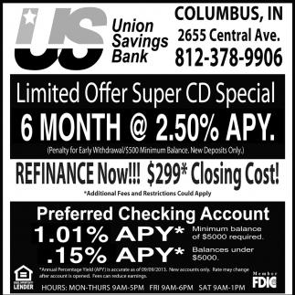 Limited Offer Super CD Special