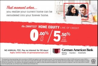 The Smartest Home Equity Line Of Credit