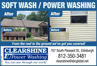 Soft Wash / Power Washing