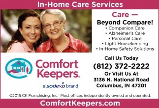 Care- Beyond Compare!
