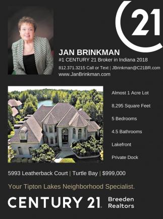 Number 1 Century 21 Broker In Indiana 2018