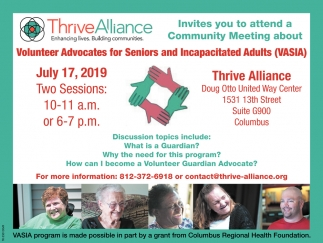 Invites You To Attend A Community Meeting