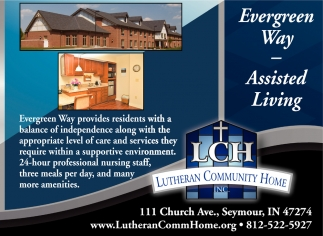 Evergreen Way, Assisted Living