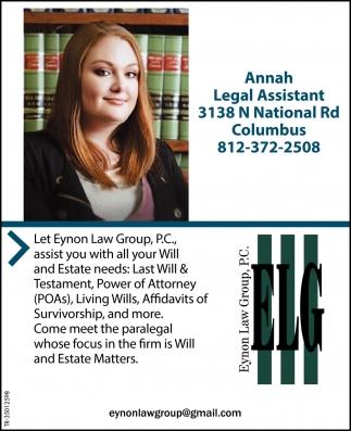Annah Legal Assistant